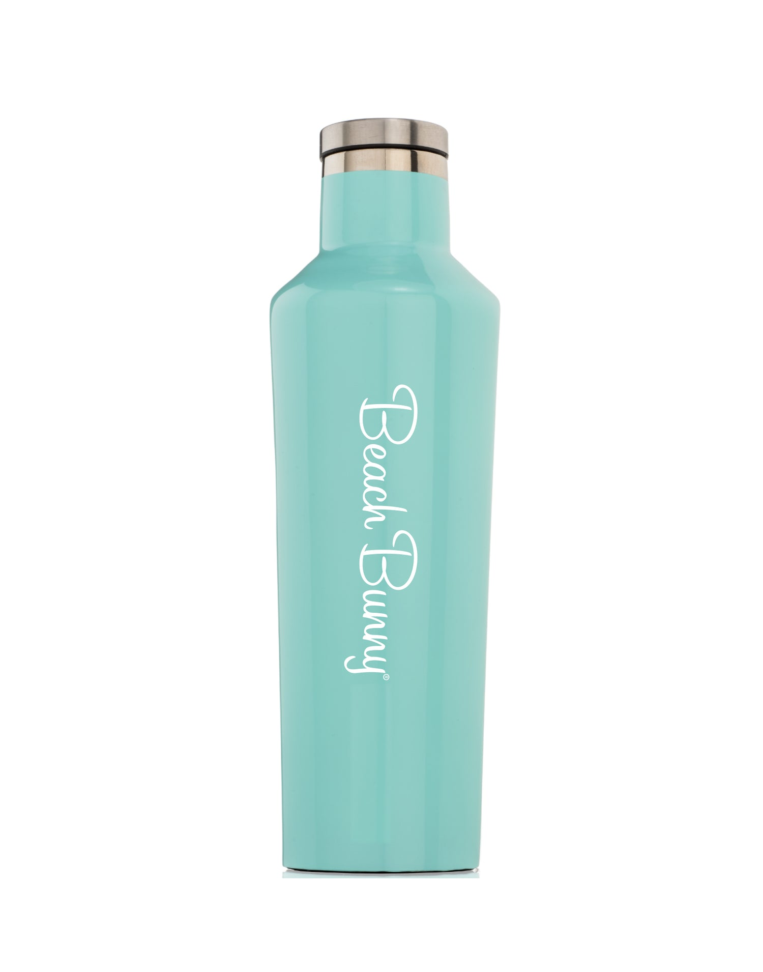 Corkcicle x Beach Bunny - Gloss Turquoise Canteen (16 oz)