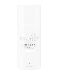 Luna Bronze's Good Night Face Bronzing Serum - Product Packaging View