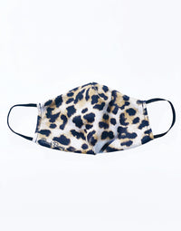 Beach Bunny Face Mask in Leopard - Product View