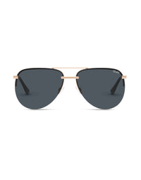 The Playa Sunglasses - Rose Gold/Smoke
