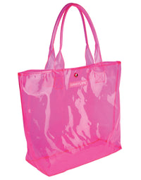 Neon Pink Market Bag - product view