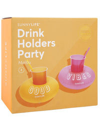 Inflatable Party Drink Holders - Set of 2 Box