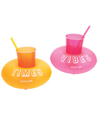 Inflatable Party Drink Holders - Set of 2