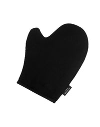 Luna Bronze's Tanning Mitt in Black - Product Angled View