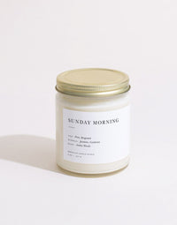 Brooklyn Candle - Minimalist - Sunday Morning