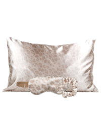 Kitsch's Satin Sleep Set in Leopard - Alternate Product View