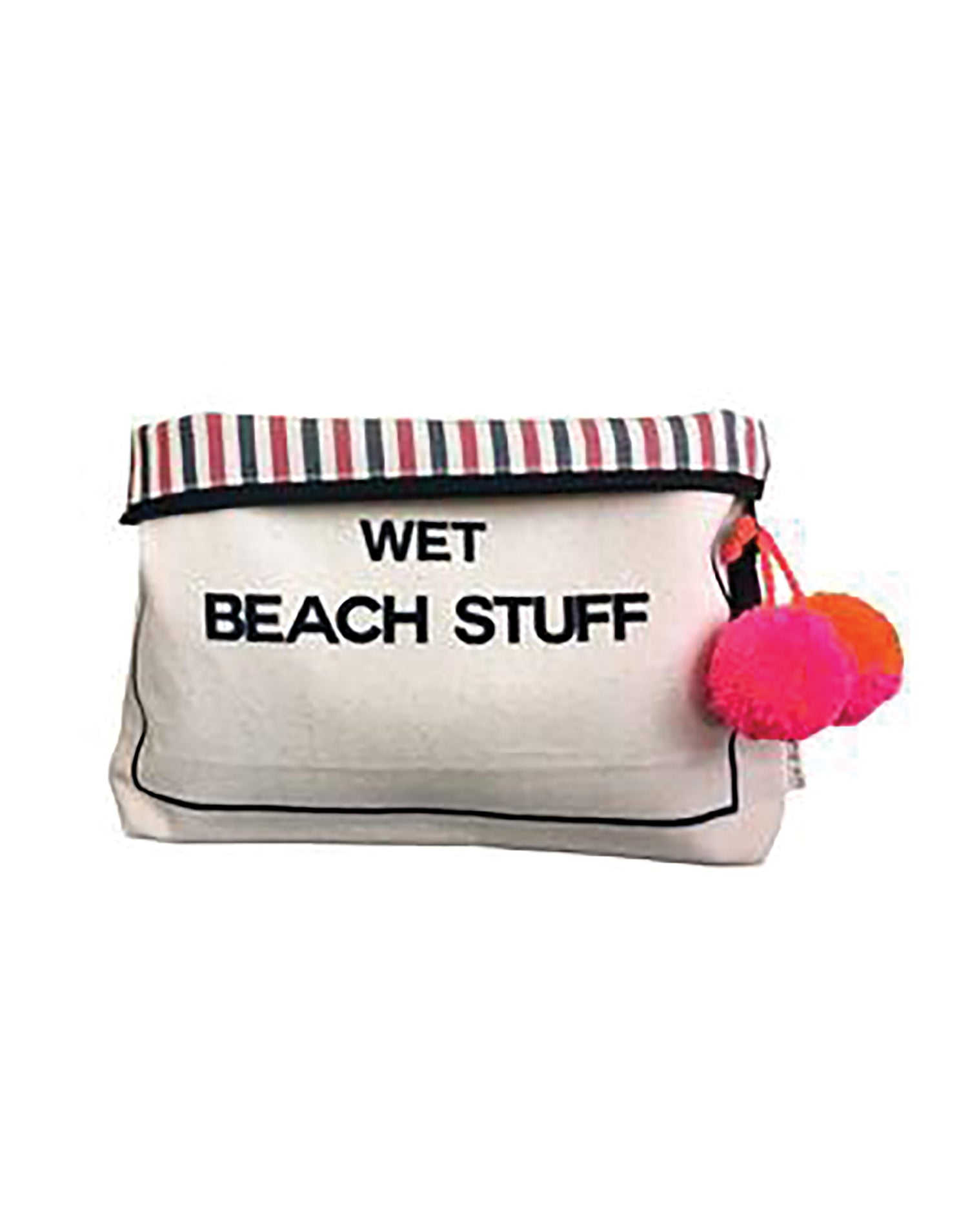Bag-all's Wet Beach Stuff Bag in White - alternate product view
