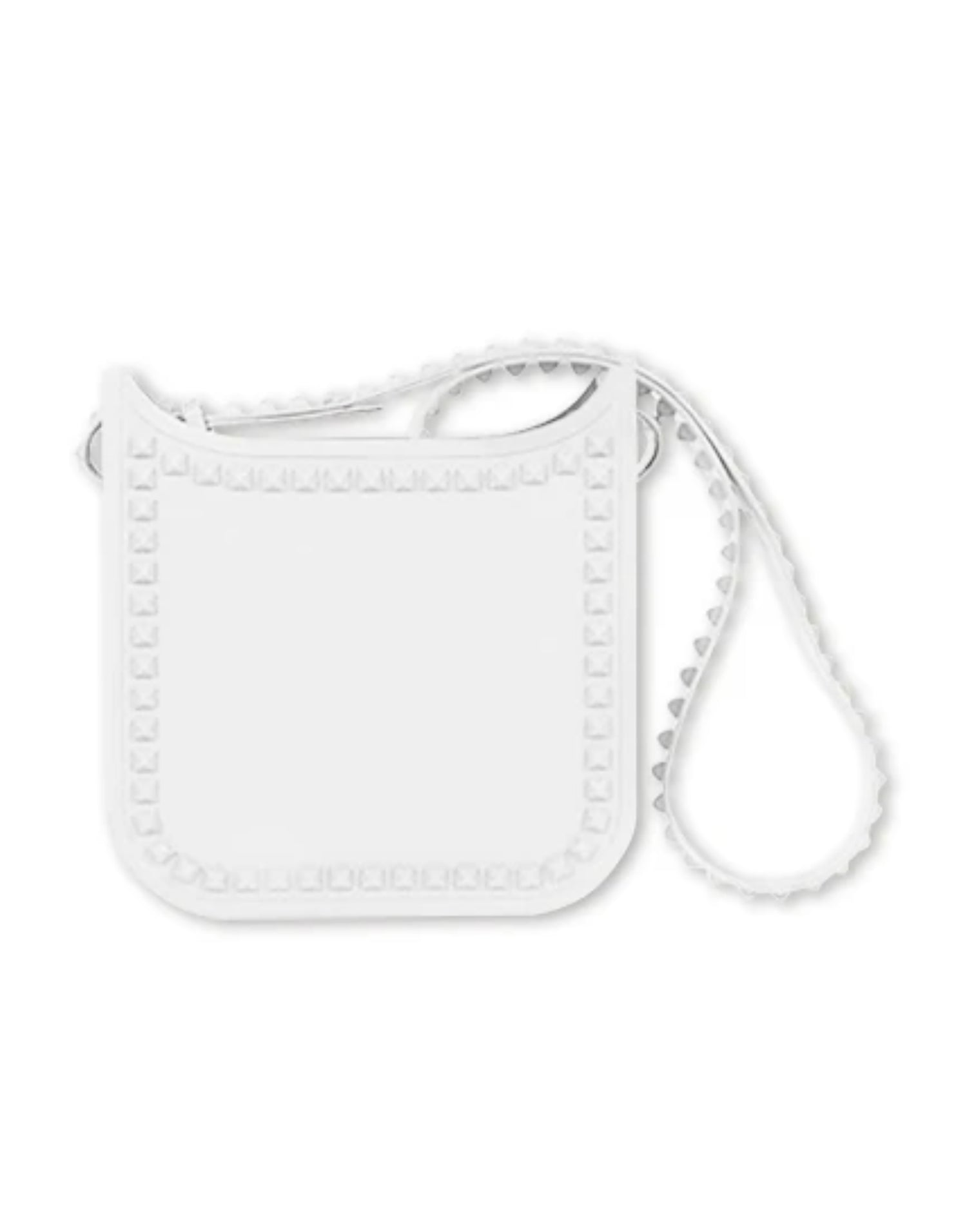 Carmen Sol's Toni Medium Crossbody Bag in White - Product View