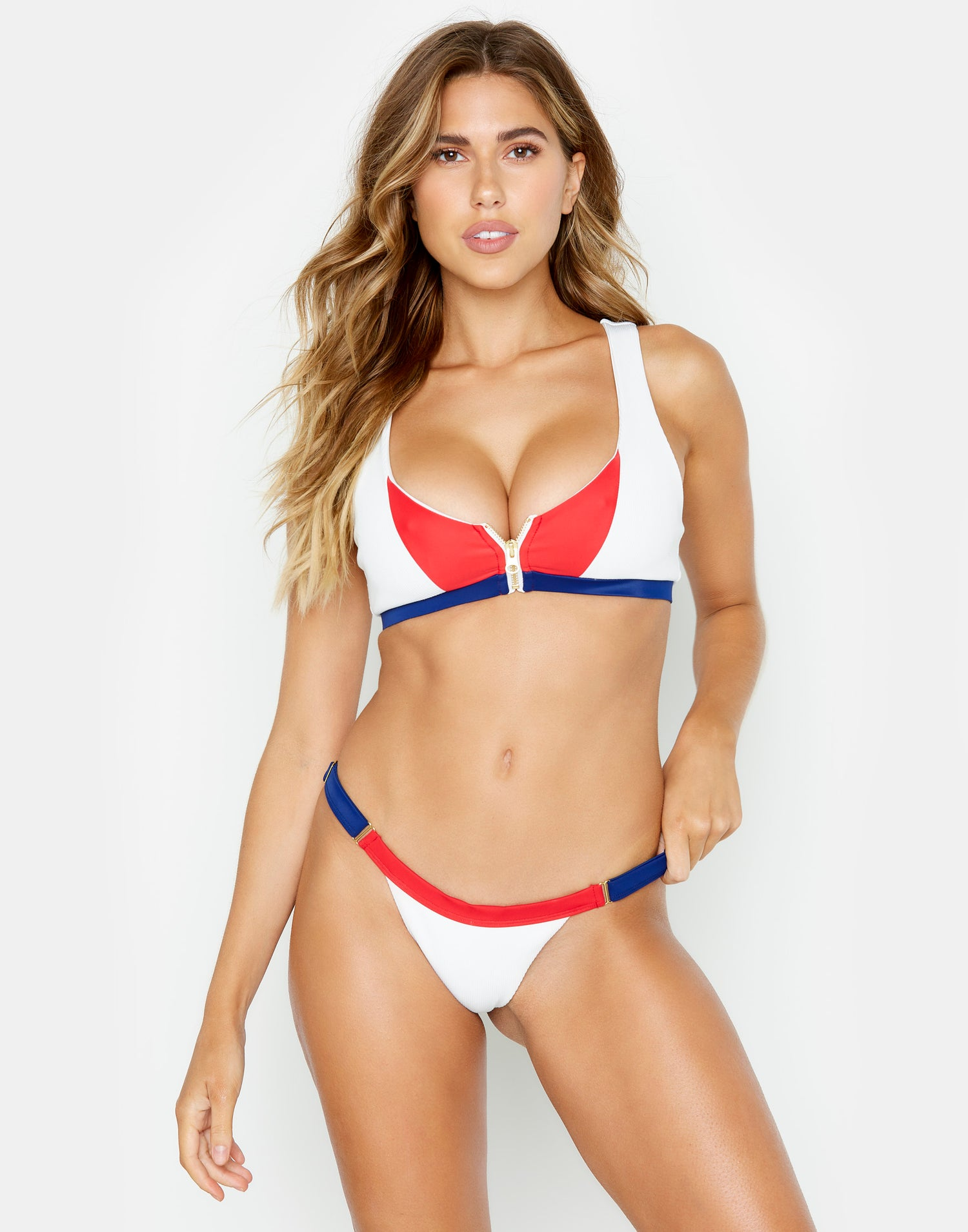 American Flag (red, white & blue) sexy bikini bottom