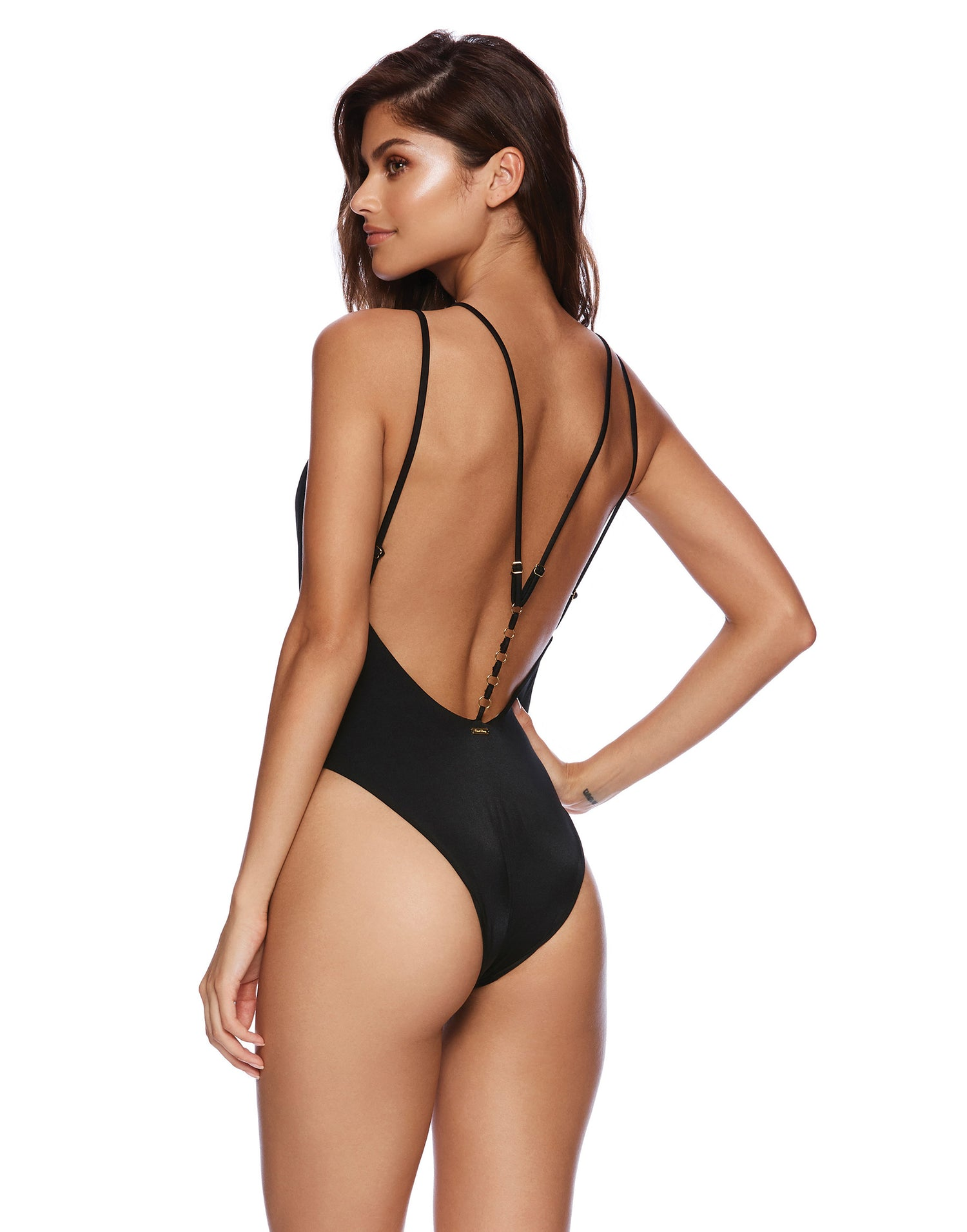 03dd44b41 Ireland Sexy One Piece Bathing Suit in Black | Beach Bunny Swimwear