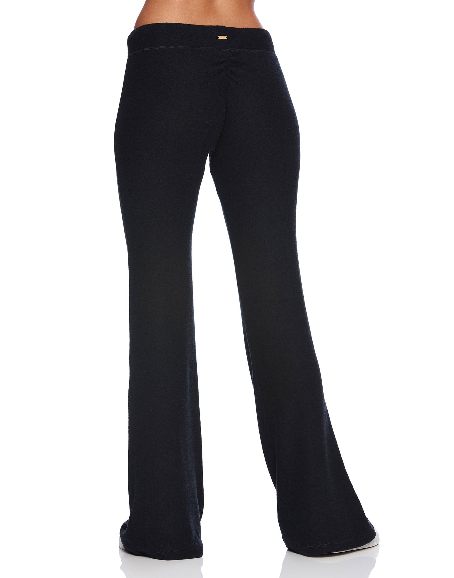 Josie Pant in Black - back view