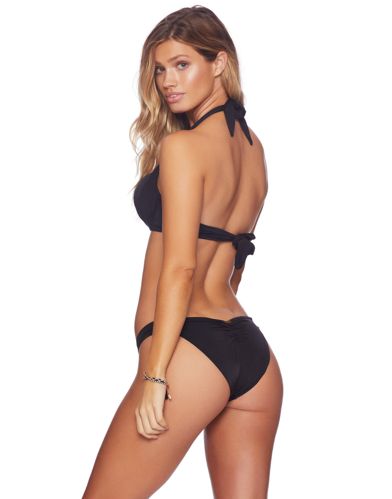 Ella Sweetheart Bottom Black Back View