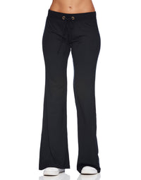 Maggie Pant in Black- front view