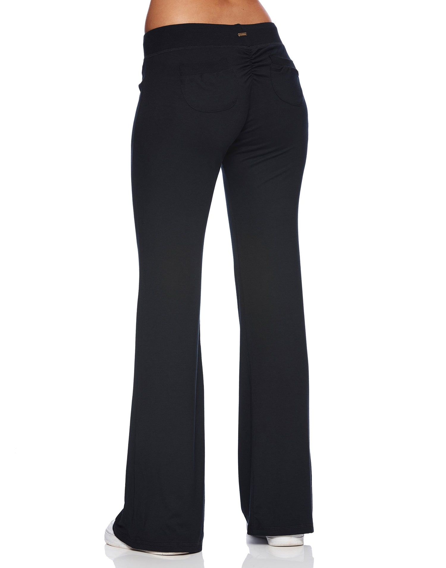 Maggie Pant in Black - back view
