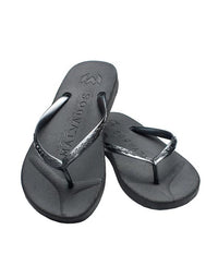 Malvados Playa Sandals in Onyx - product view