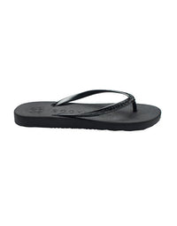 Malvados Playa Sandals in Onyx - side view