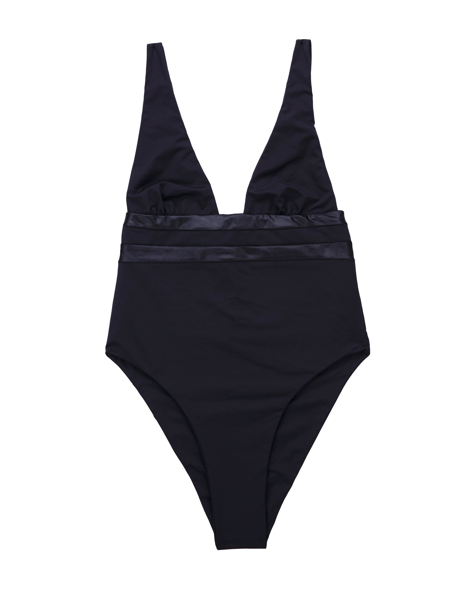 Mia Skimpy One Piece in Black - product view