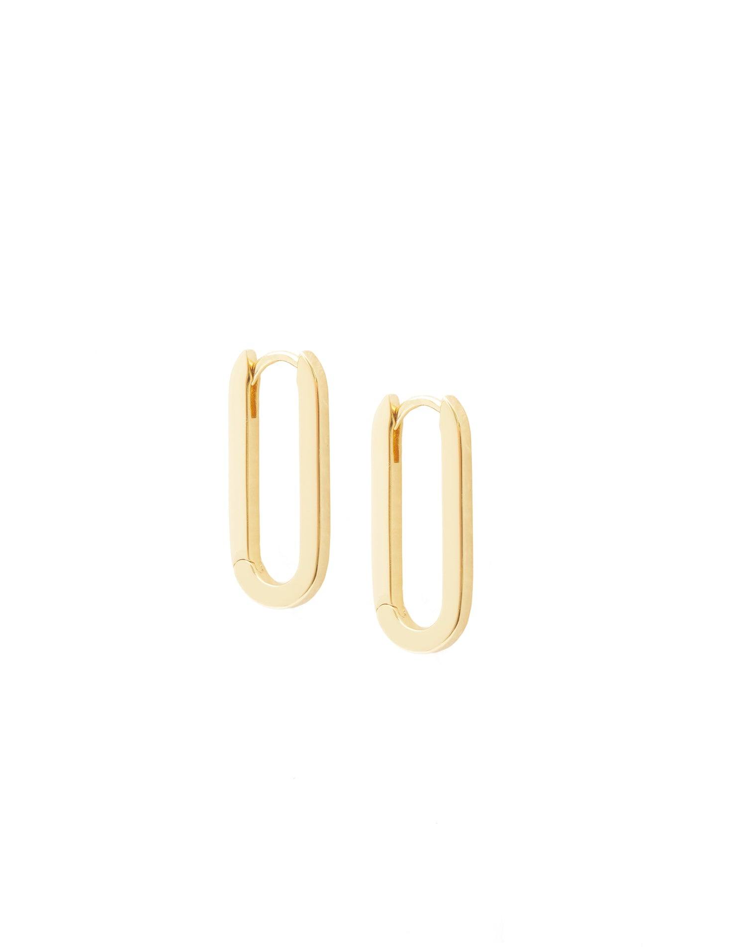 Parker Huggies Earrings in Gold - product view