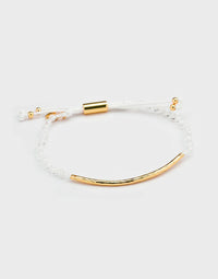 Power Gemstone Bracelet for Clarity White