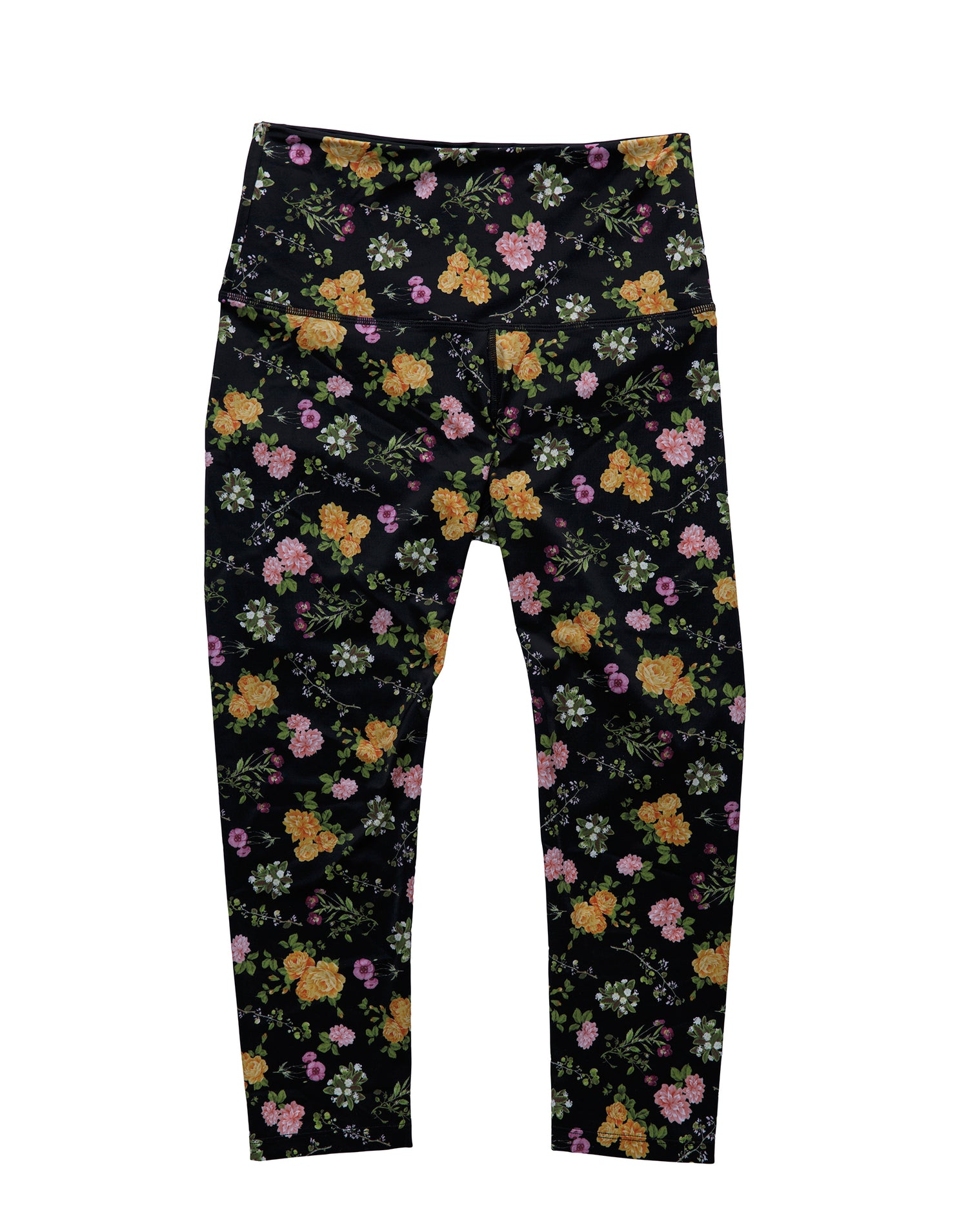 Sunny Legging in Black Floral - product view
