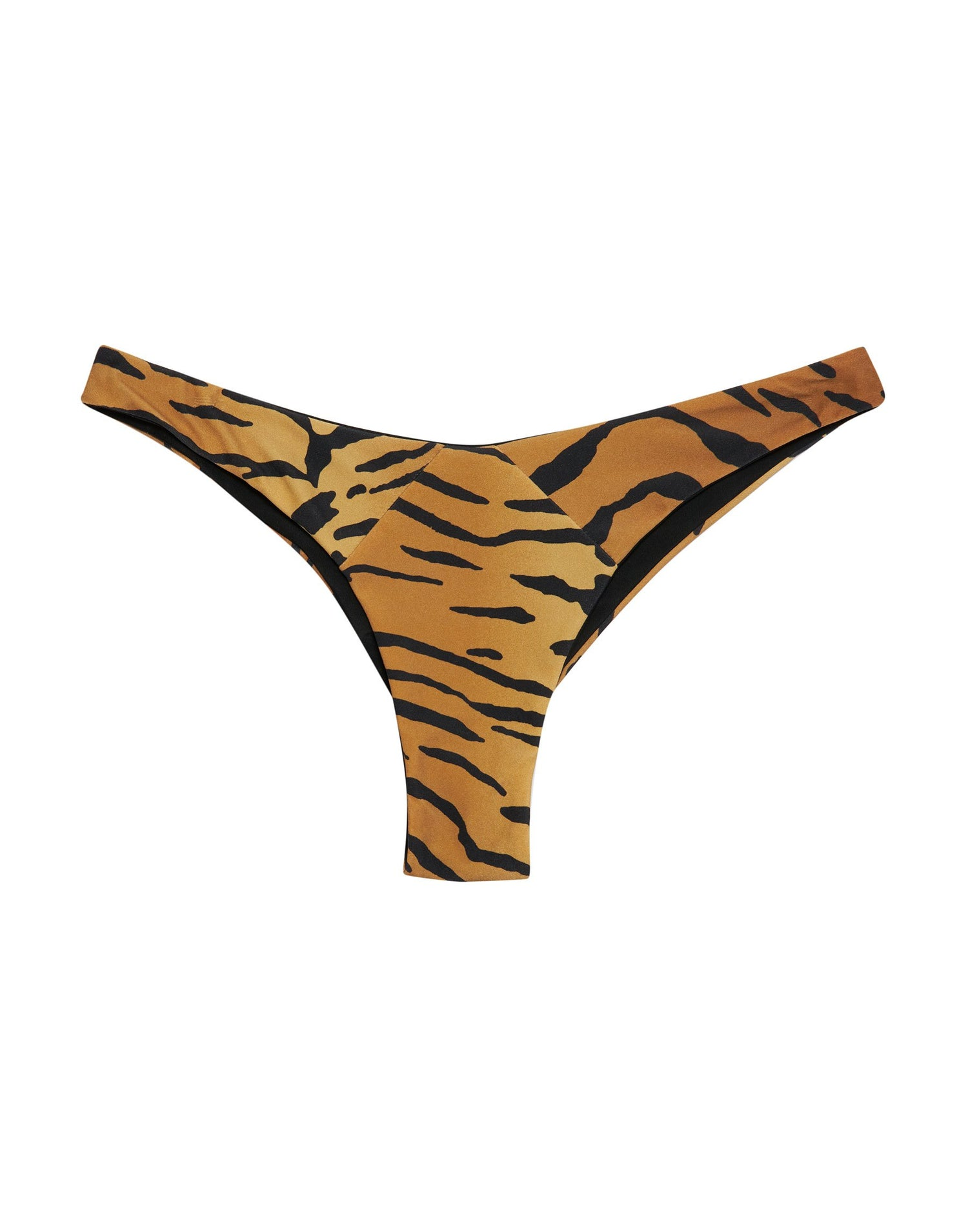 Sydney Brazilian Bikini Bottom in Tiger - product view