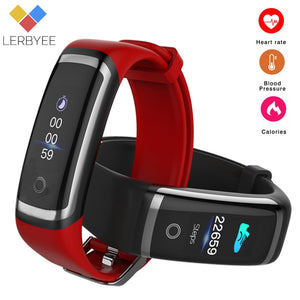 Fitness Tracker and Waterproof Smart Bracelet