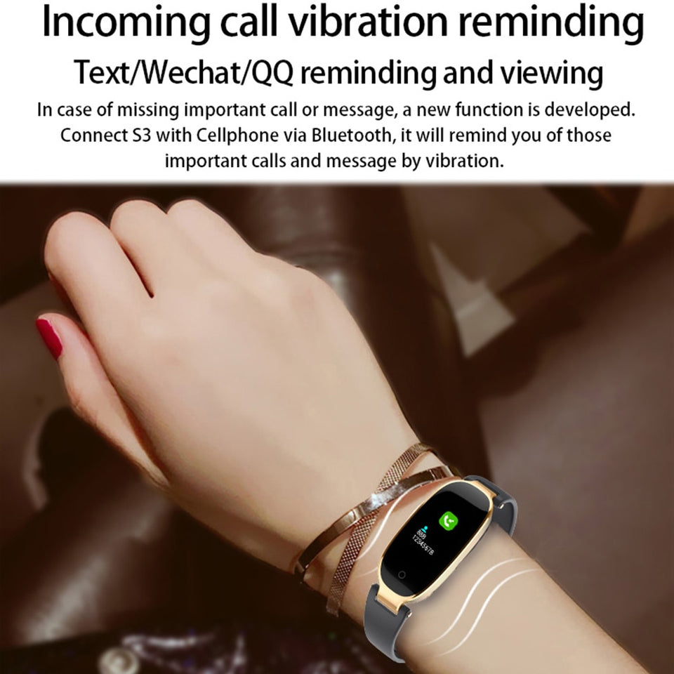 Women Color Screen Smart Wristbands