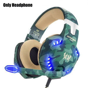 Gamer Stereo Headphone With Mic
