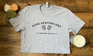 Rose Apothecary Graphic Tee - Heather Grey