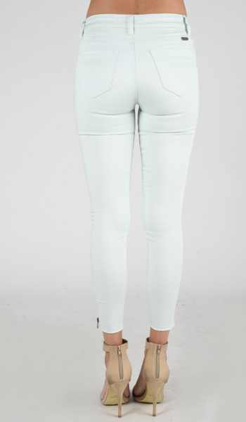 Mint Ankle Length Skinny Jean