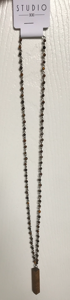 Beaded Falling For You Necklace