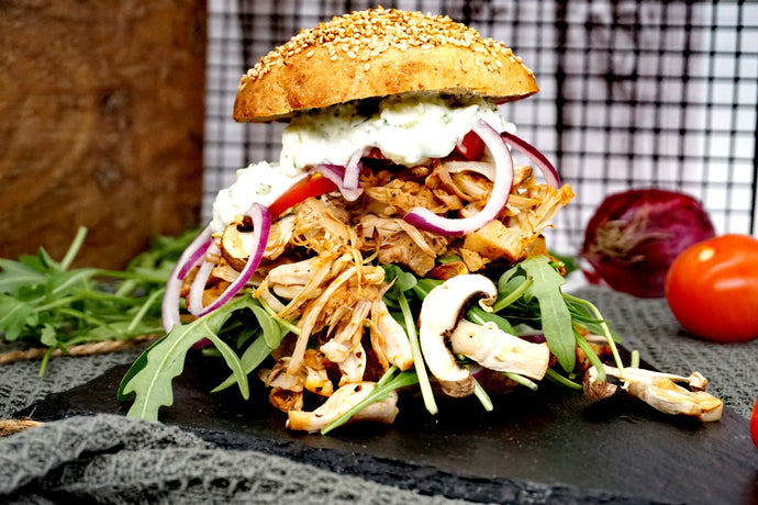 Pulled Jackfruit Burger | my_lowcarb_soulfood