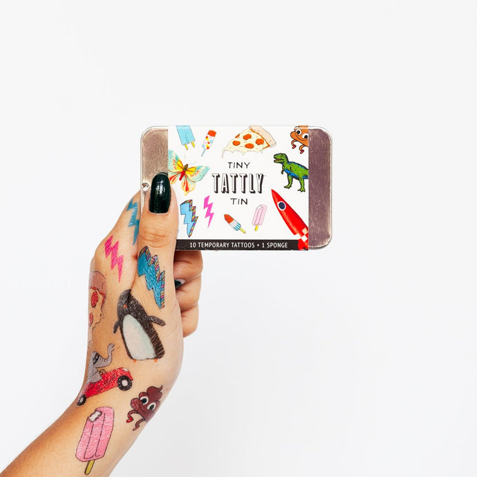 Safe Temporary Tattoos - Tin Gift Case