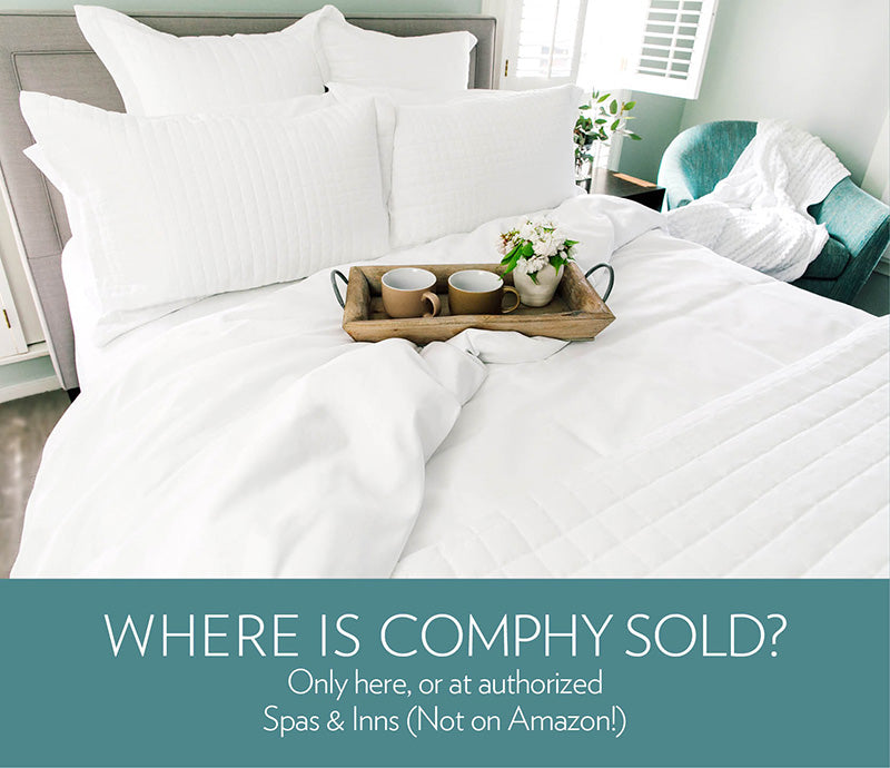 Comphy Sheets   Developed For Spa. Designed For Ahh. | The Comphy Company