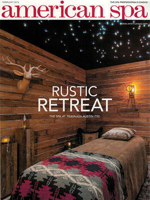 Comphy American Spa Rustic Retreat