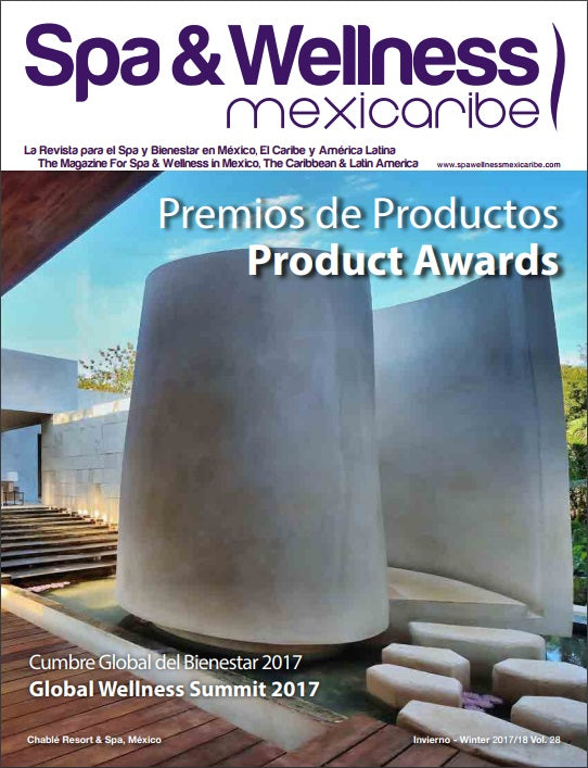 Comphy Spa and Wellness Mexicaribe magazine winnner