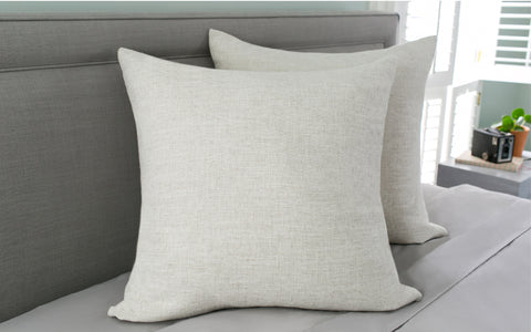 "Seaside Linen 24"" x 24"" Pillow"