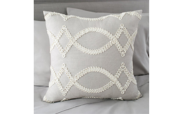 Maxime Smoke Pillow Cover