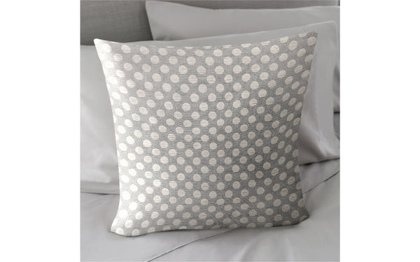 "Posie Dot Sterling 18"" x 18"" Pillow"