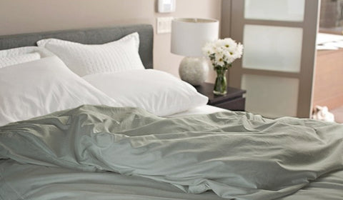 Dove Grey (Off Color Dye Lot) Duvet Cover