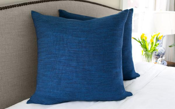 Millwood Navy Pillow Cover