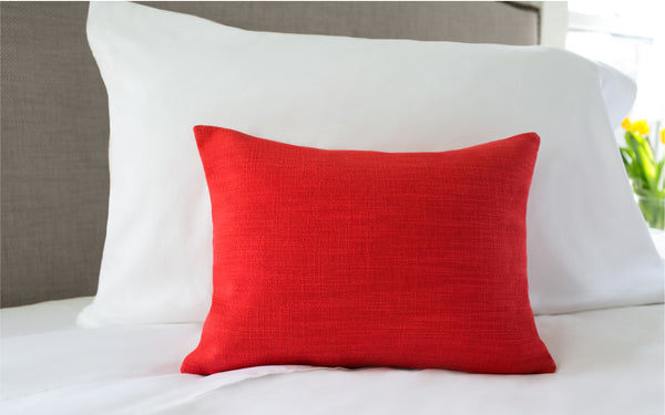 "Millwood Maraschino 12"" x 16"" Pillow"