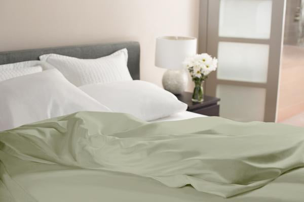 Tea Green Duvet Cover