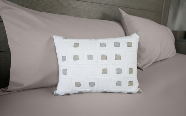 Gridwork Dune Pillow Cover