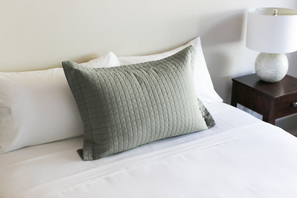 Dove Grey (Off Color Dye Lot) Pillow Sham