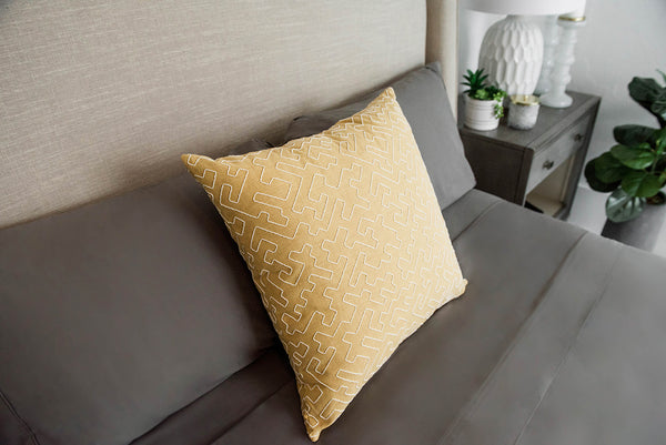 Asante Ochre Pillow Cover