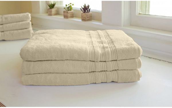 Cream Bamboo Towels