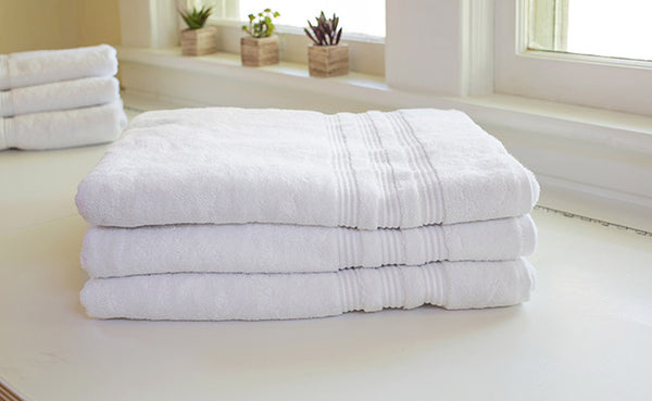 White Bamboo Towels