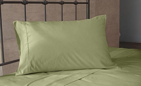 Tea Green Pillowcase Set