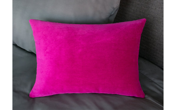 Cuddle Me Raspberry Pillow Cover